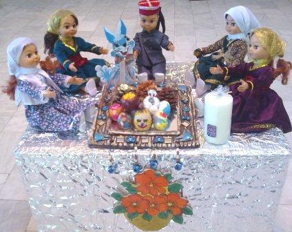 سفره هفت سین مرکز 2 - مربی : زارع